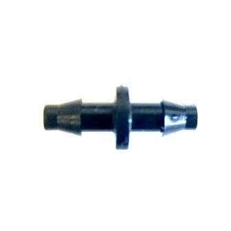 "DD-C250 - Drip Irrigation 1/4"" Barbed Connector."