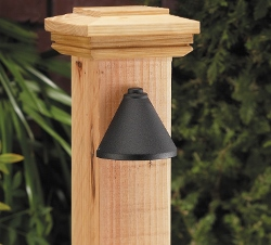 SL-4250 - VISTAPRO 4250 Deck Light - Available in Black or Bronze