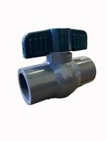 "0921S-10 - 1"" SLIP PVC Ball Valve (A5E3)"