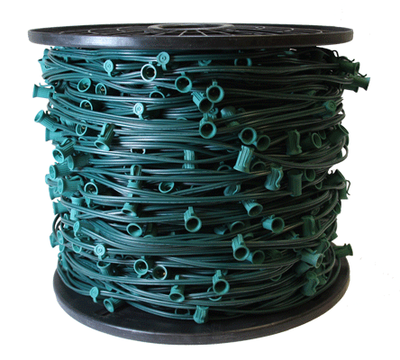 "C9 STRINGER - 1,000 FT 12"" Spacing, Green"
