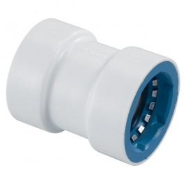 PVCL-429-010 - PVC Lock Irrigation Coupling Fitting 1""