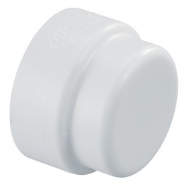 "PVCL-447-010 - PVC Lock Irrigation Fitting 1"" PVC Lock Cap"
