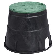 "NDS 111BC- 10"" Round Box With Overlapping Cover  - ICV"