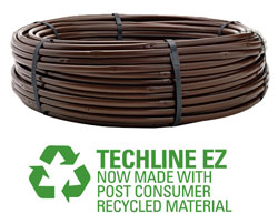 "TLEZ-6-42-200 - Netafim Techline EZ 12mm Drip Line - 6"" Spacing, .42 GPH, 200 ft"