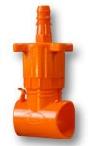 """KT010-DMA17 - Dawn Kwik Tap Saddle Tee 1"""" x 17mm Dripline Barb"""