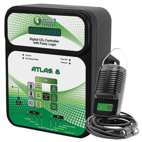 Titan Controls Atlas 8 - Digital CO2 Controller w/ Fuzzy Logic