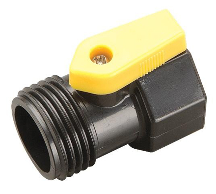 "DD-BV75 - Ball Valve - 3/4"" Female Hose x 3/4"" Male Hose."