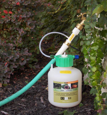 EZFLO-2005-HB 3/4 Gallon (2.8 Litre)  Hose Bib & Drip System Connection EZ-FLO Fertilizer Injector - For On/Off Pressure Only