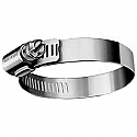 """#16 Stainless Steel Gear Clamp For 1""""  Pipe"""